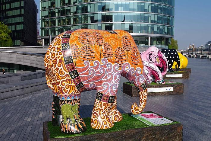 Парад Слонов в Лондоне 2010 95602