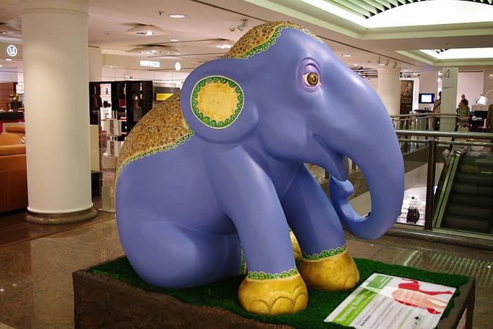 Парад Слонов в Лондоне 2010 90617