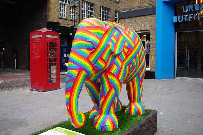 Парад Слонов в Лондоне 2010 24653