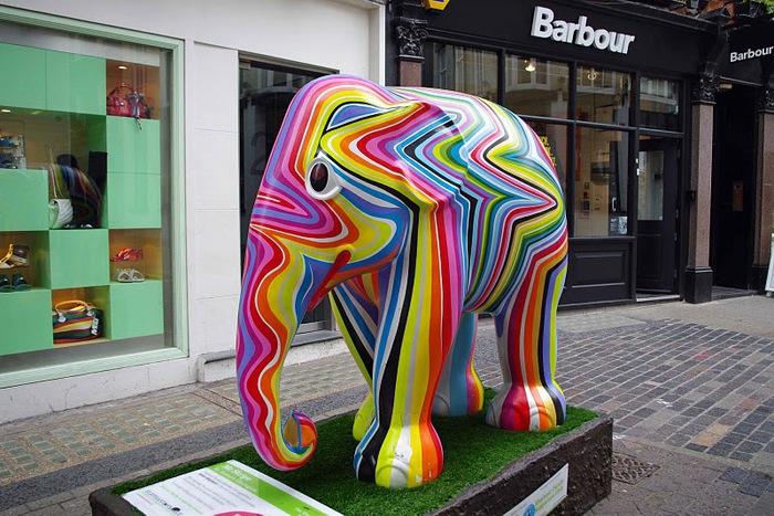 Парад Слонов в Лондоне 2010 91845