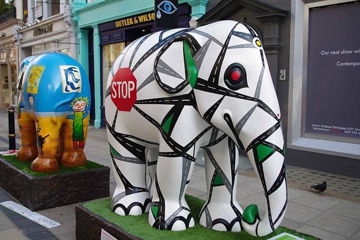 Парад Слонов в Лондоне 2010 80876