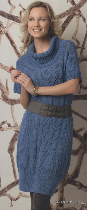 dress fashion for women: free knitting patterns