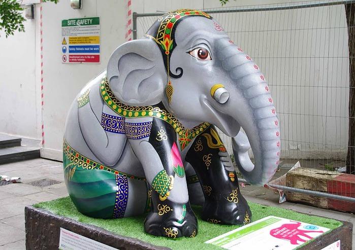 Парад Слонов в Лондоне 2010 47381