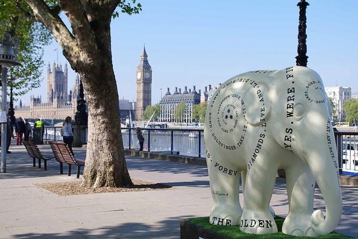Парад Слонов в Лондоне 2010 81654