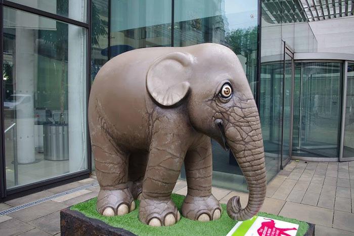 Парад Слонов в Лондоне 2010 56457