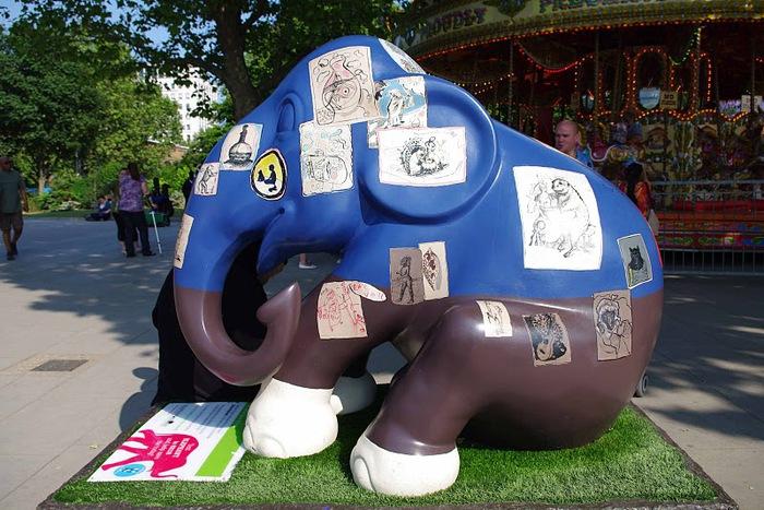 Парад Слонов в Лондоне 2010 46990