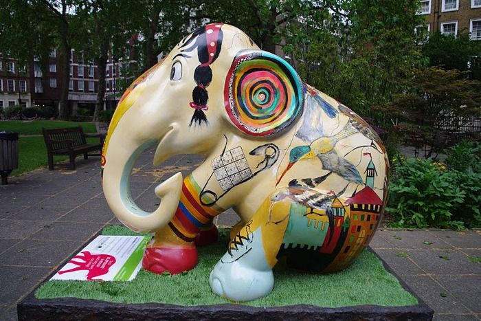 Парад Слонов в Лондоне 2010 28662