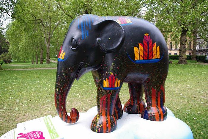 Парад Слонов в Лондоне 2010 28699