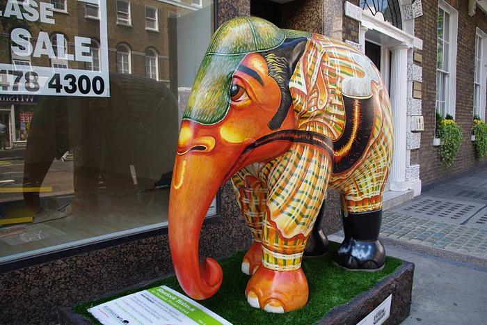 Парад Слонов в Лондоне 2010 24728