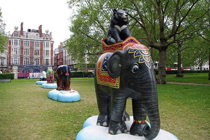 Парад Слонов в Лондоне 2010 28845