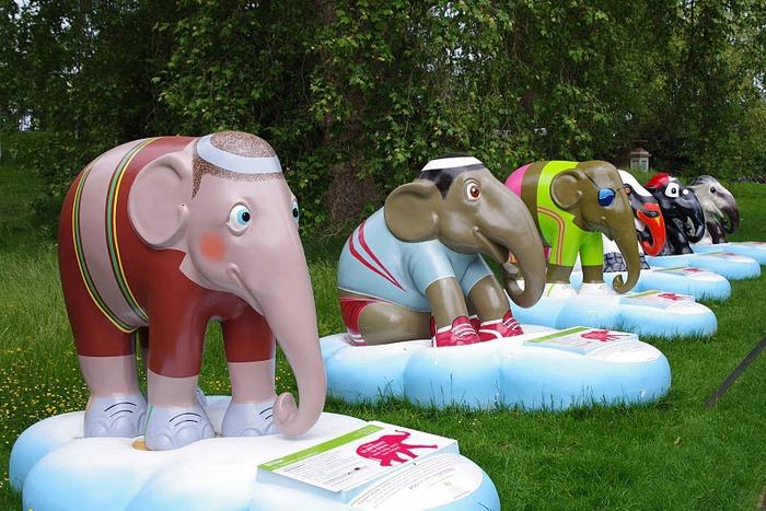 Парад Слонов в Лондоне 2010 81112