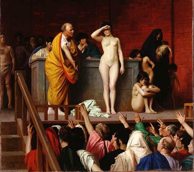 сексуальное рабство в древности видио