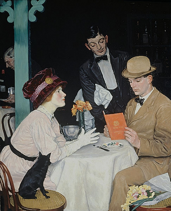 William Strang (1859-1921) Bank_holiday_1912 (554x684, 304 Kb)