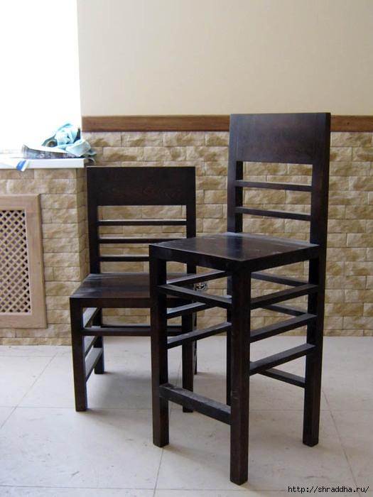 стул барный для кафе