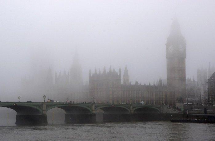 лондон - туман