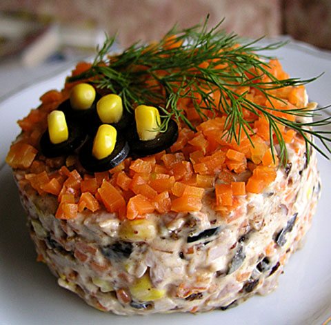 салат вечер в сиракузах