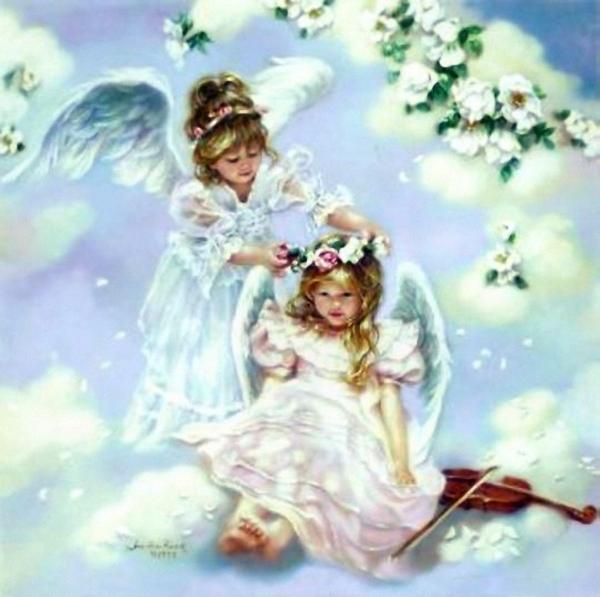 картинки с днём рождения ангел