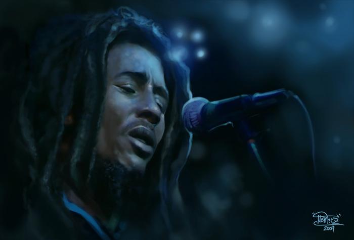 Боб Марли- певец регги