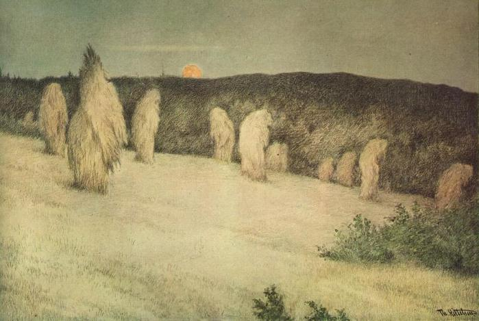 Theodor_Kittelsen_-_Kornstaur_i_m?neskinn,_ca_1900_(Stooks_of_Corn_in_Moonlight) (699x469, 53 Kb)