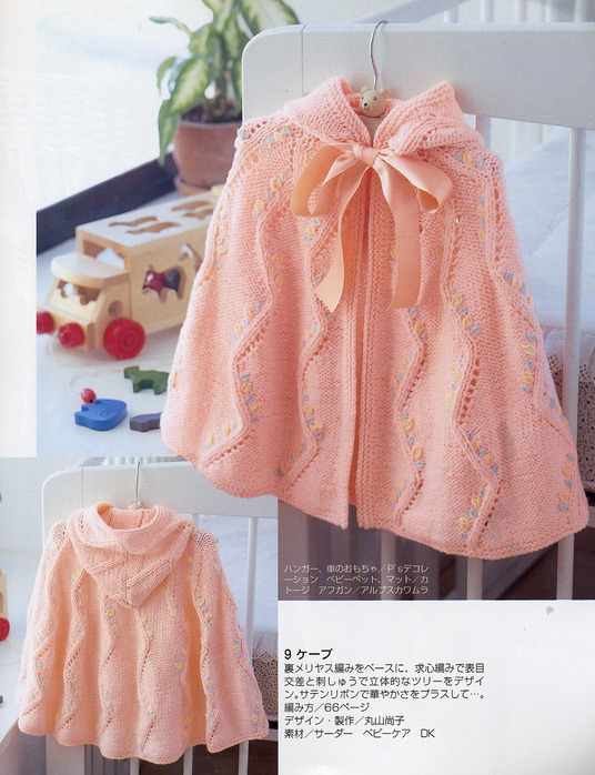 knitting sweater or poncho pattern