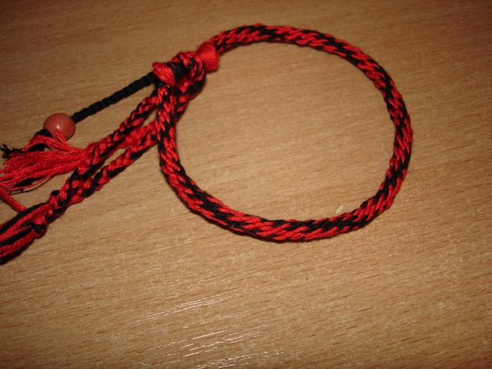 Первый опыт плетения кумихимо