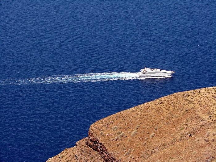 Остров Санторини – вулканическая красота. 69034