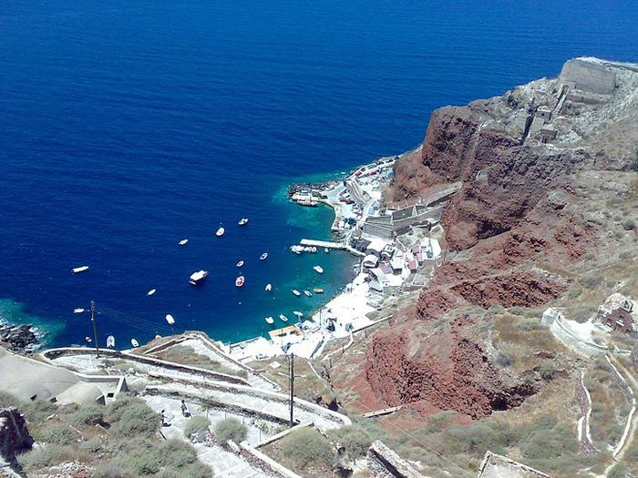 Остров Санторини – вулканическая красота. 89310