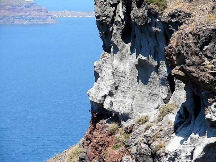 Остров Санторини – вулканическая красота. 37815