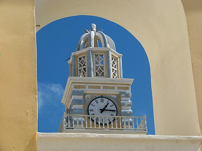 Остров Санторини – вулканическая красота. 87769