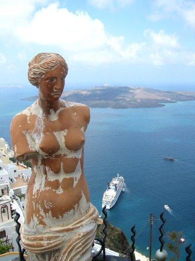 Остров Санторини – вулканическая красота. 77769