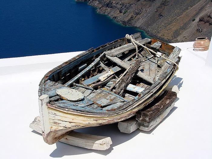 Остров Санторини – вулканическая красота. 33229