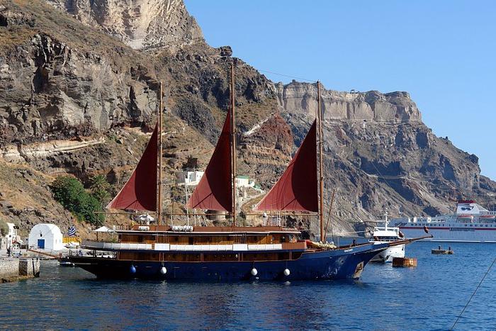 Остров Санторини – вулканическая красота. 83334