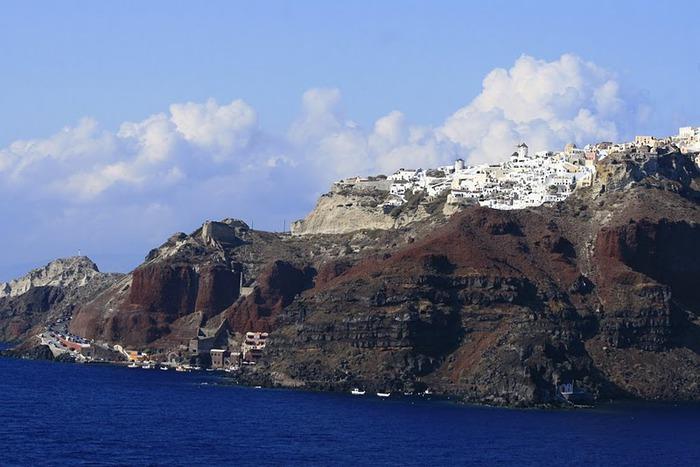 Остров Санторини – вулканическая красота. 15841