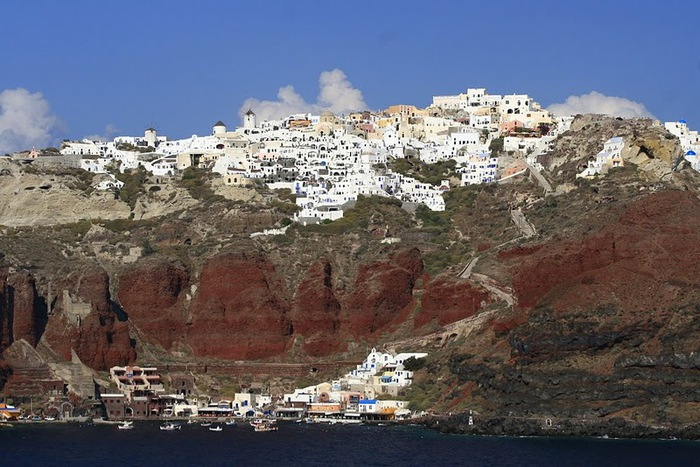 Остров Санторини – вулканическая красота. 95754
