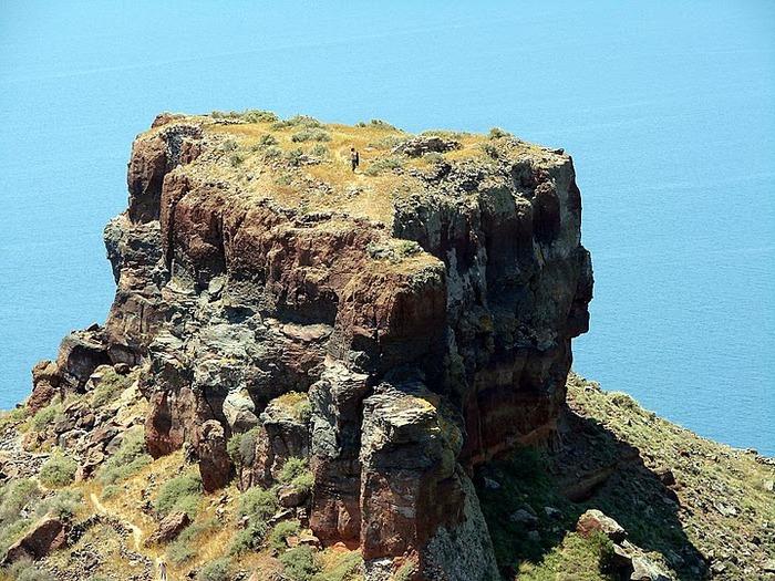 Остров Санторини – вулканическая красота. 51925