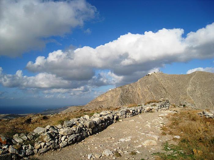 Остров Санторини – вулканическая красота. 71557