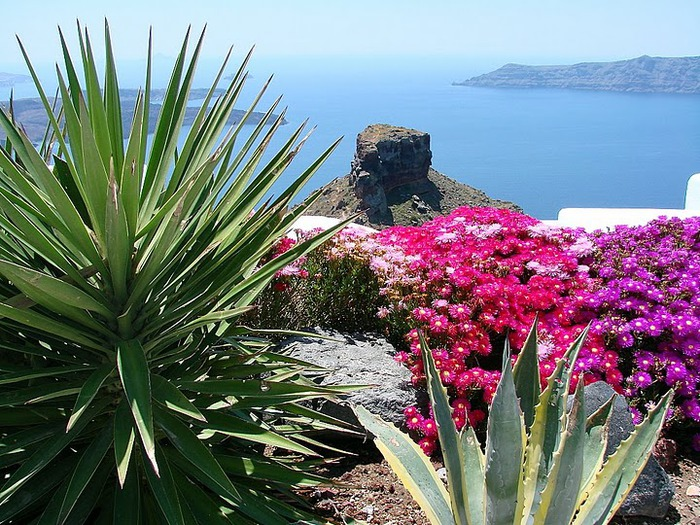 Остров Санторини – вулканическая красота. 84125