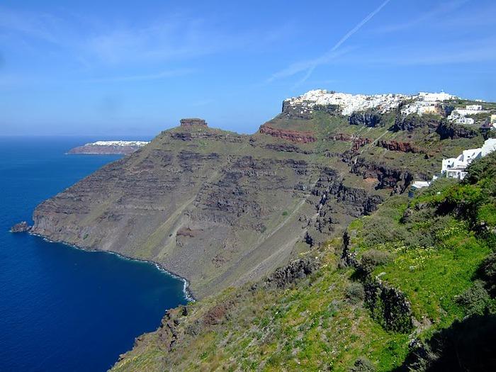 Остров Санторини – вулканическая красота. 53599