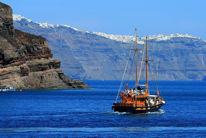 Остров Санторини – вулканическая красота. 97277