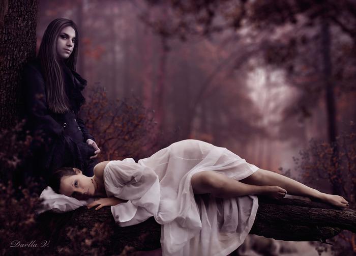 картинки фэнтези про любовь: