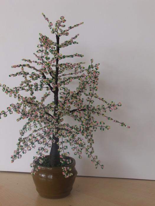 Деревья из бисера. 95377