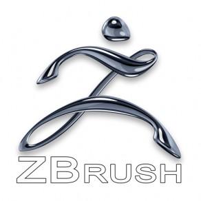 Сначала открываем ZBrush