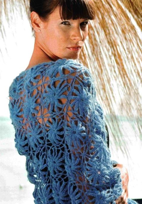 crochet flowers for scarf, free crochet patterns