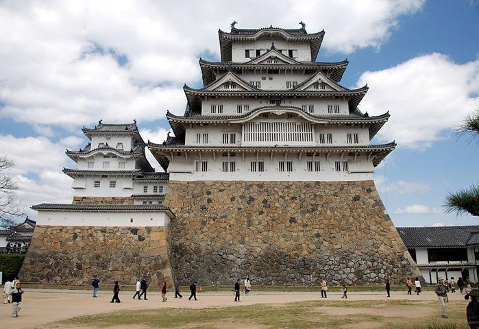 Замок Химедзи - Himeji Castle 55084