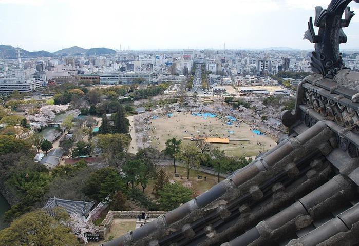 Замок Химедзи - Himeji Castle 11458