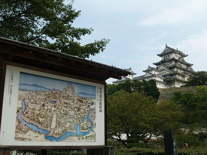 Замок Химедзи - Himeji Castle 15723