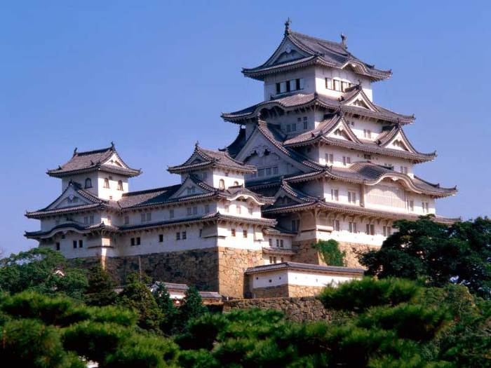 Замок Химедзи - Himeji Castle 47654