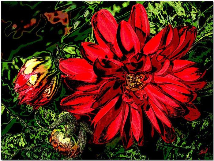 цветочный хоровод 98373