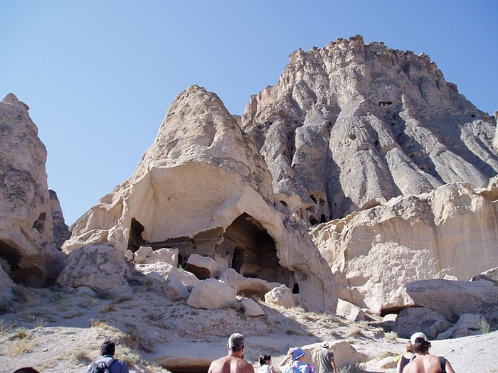 вырубленный в скалах - монастырь Селиме (Selime) 62496