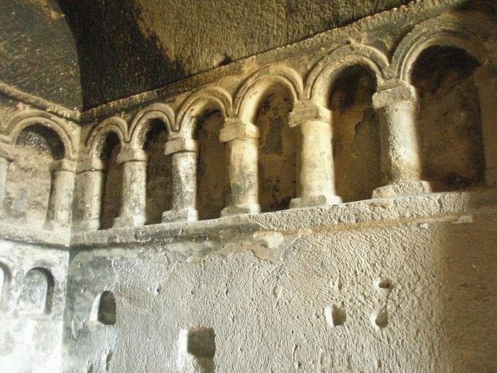 вырубленный в скалах - монастырь Селиме (Selime) 52127